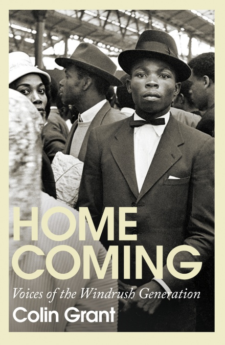 Homecoming - image of book cover