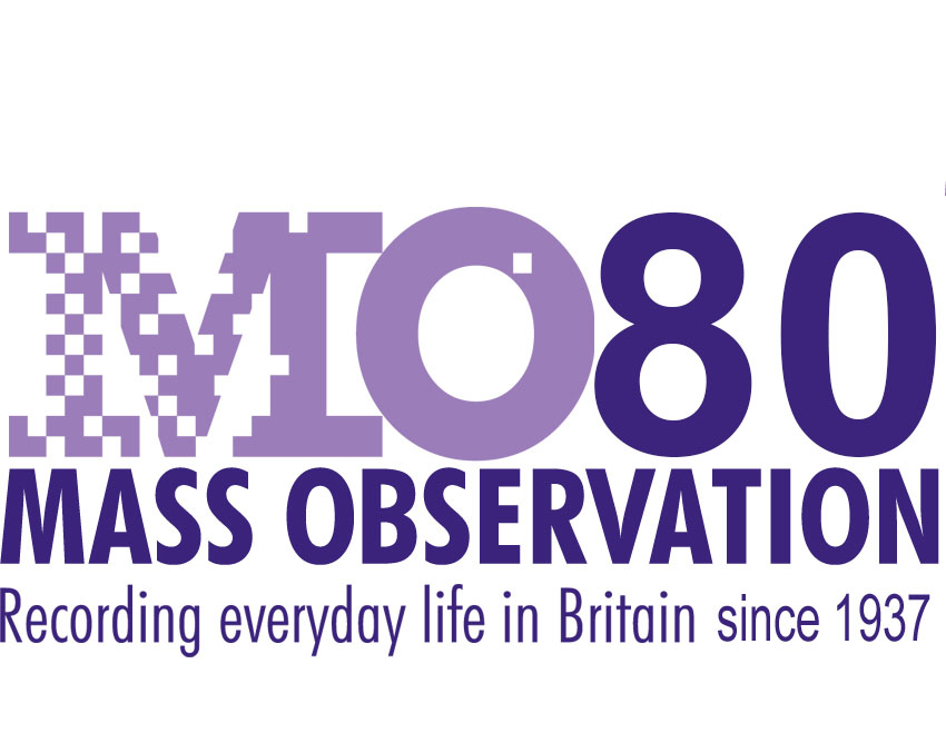 Mass Observation 80th Anniversary Logo