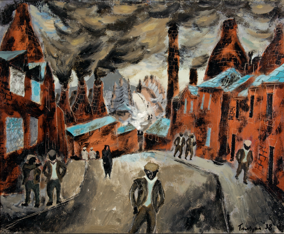 The Potteries 1938 The Julian Trevelyan Estate