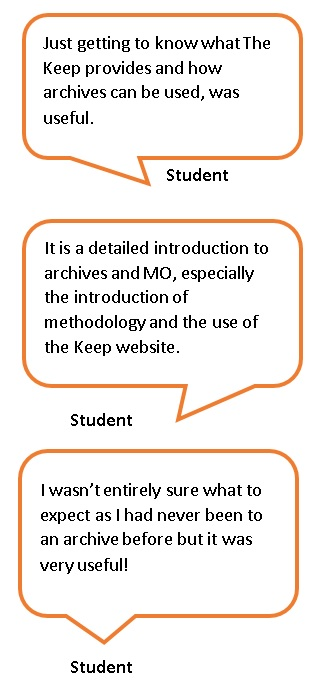 Feedback quotes from students